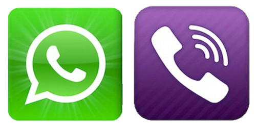 WhatsApp--Viber